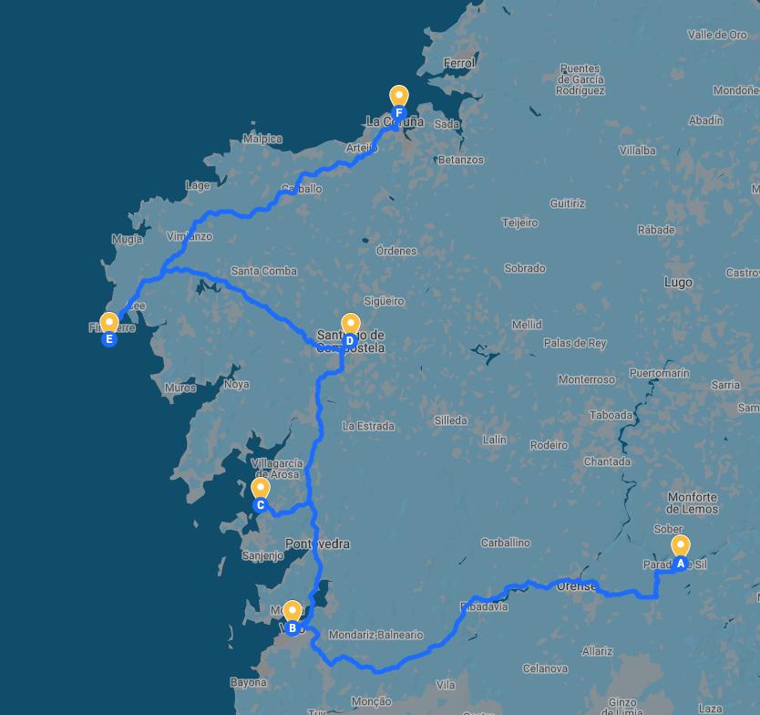 Galicia en 10 días