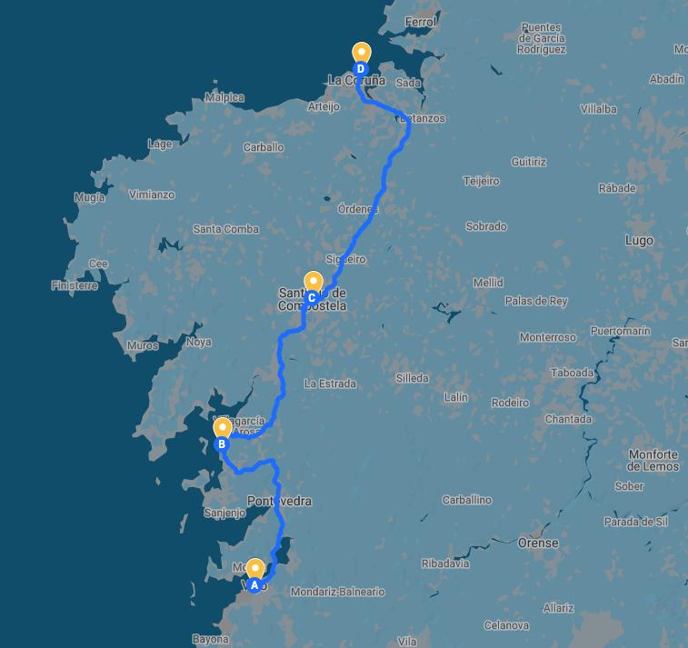 rutas en galicia